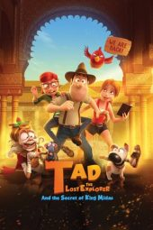 Nonton film Tad the Lost Explorer and the Secret of King Midas (2017)