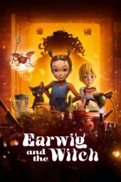 Nonton film Earwig and the Witch (2021)